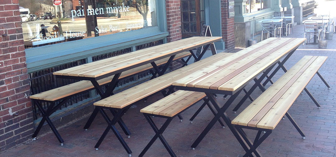 Commercial Outdoor Seating